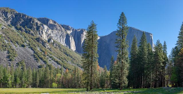Yosemite - Cola de Caballo y El Capitán