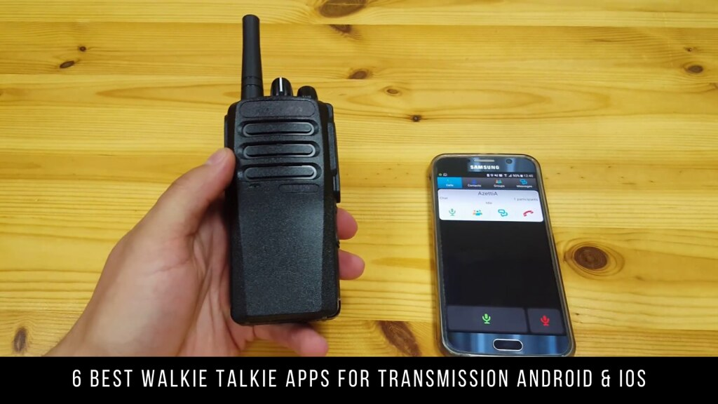 6 Best Walkie Talkie Apps For Transmission Android & iOS