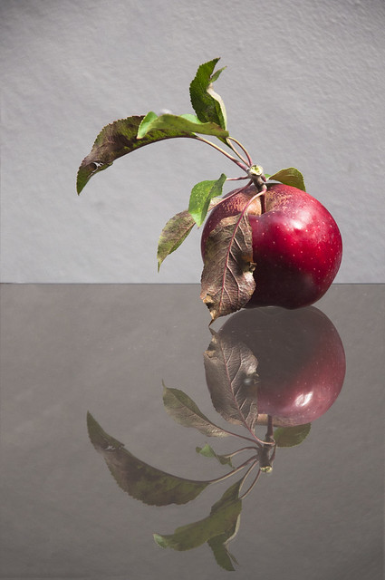 .. apple reflection ..