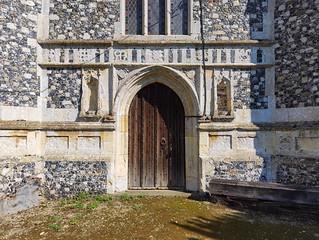 west door