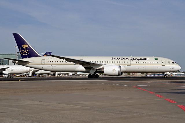 Saudia - Saudi Arabian Airlines Boeing 787-968 HZ-AR23 FRA 13-09-20