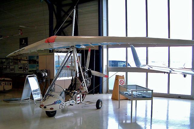 OE-8113   Flight Team Pipistrel Spider 6D/Hazard 15M [196] (Flugmuseum Aviaticum) Wiener Neustadt-Ost~OE 17/04/2005