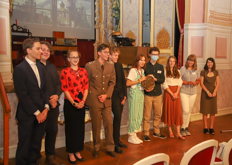 Local Award Ceremony for The Secret Life of a Palace, Gödöllő, Hungary