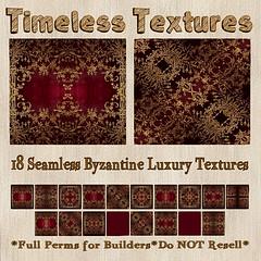 TT 18 Seamless Byzantine Luxury Timeless Textures