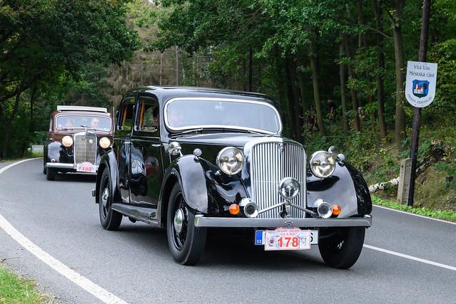 1946 Rover P2 14 Sportsman