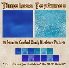 TT 12 Seamless Crushed Candy Blueberry Timeless Textures