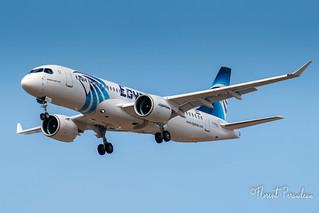 Airbus A220-300, EgyptAir, C-FOVX (MSN 55081)