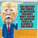 Anti-Trump Cartoon #110 - Version #2 - Alternate Text