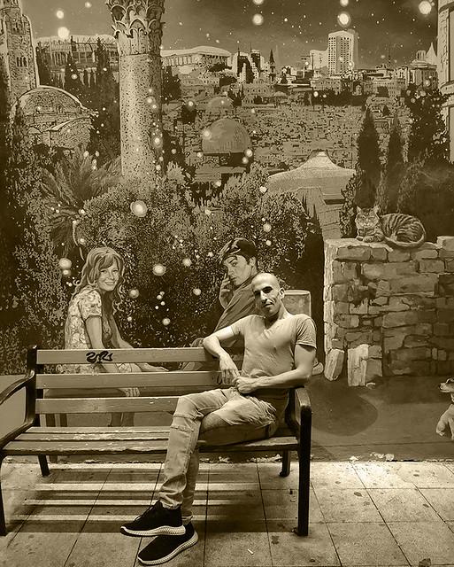 assaf henigsberg אסף הניגסברג ביקור בגלריות ישראל ירושלים  גלריות בירושלים בישראל אמנות ישראלית  תערוכה של ציורים תערוכת אומנות עכשווית מודרנית