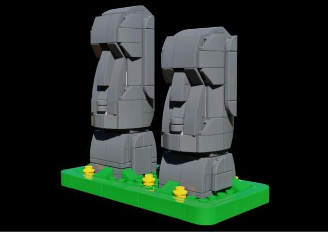 Moai (better render)
