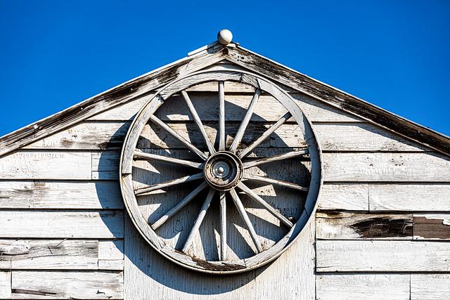 White Barn Roof