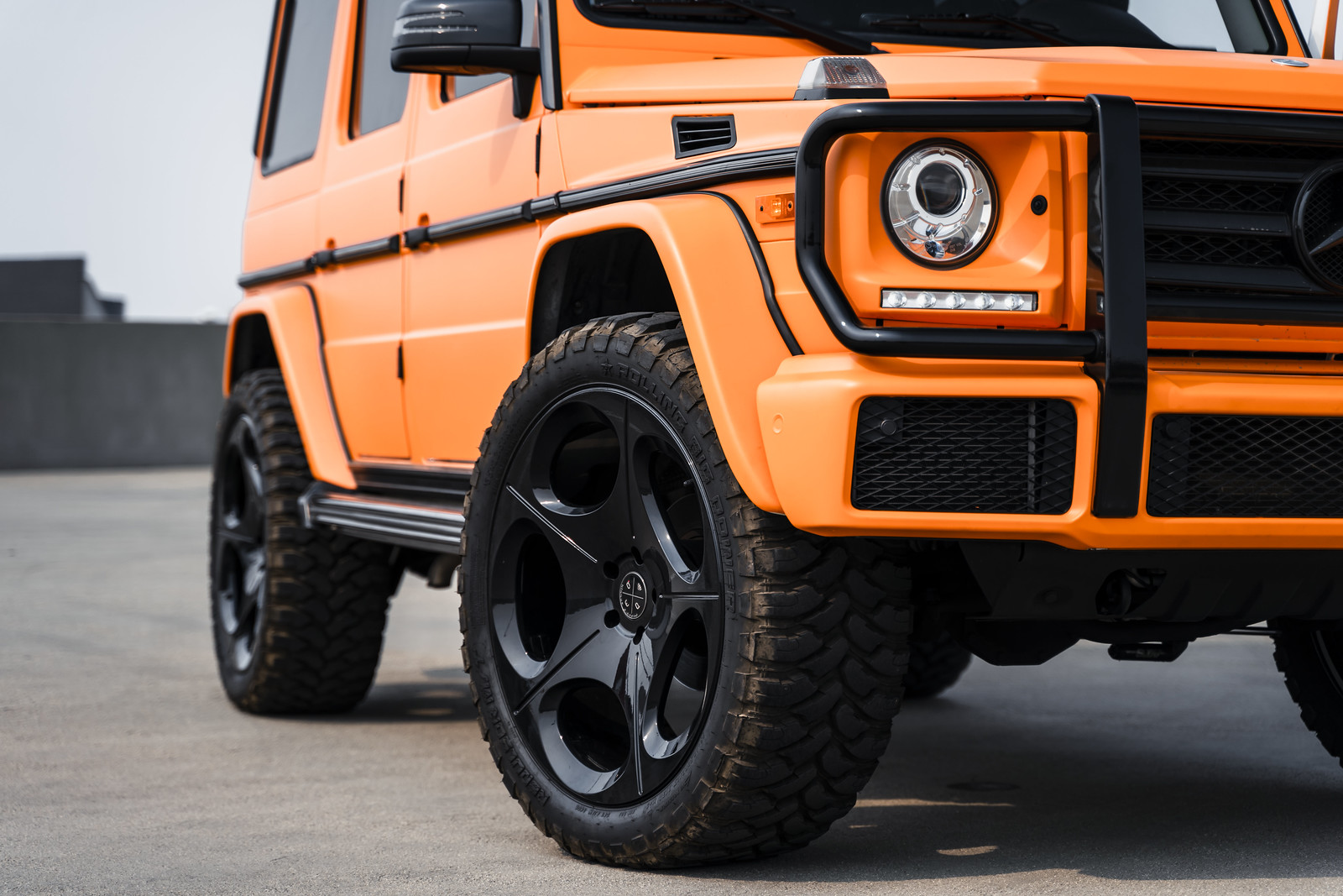 2016_Mercedes_Benz_G_Wagon_G550_BD77_Gloss_Black_4