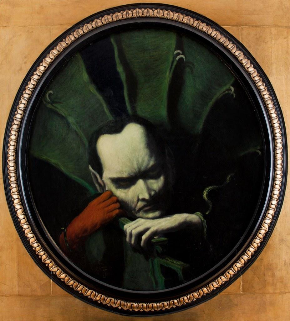 Feliks Jabłczyński - Mefisto (olej), 1893