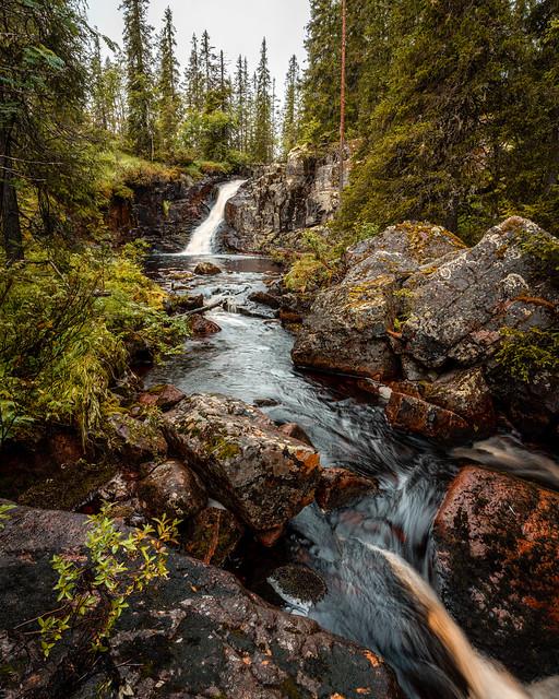 Waterfall at Stopån