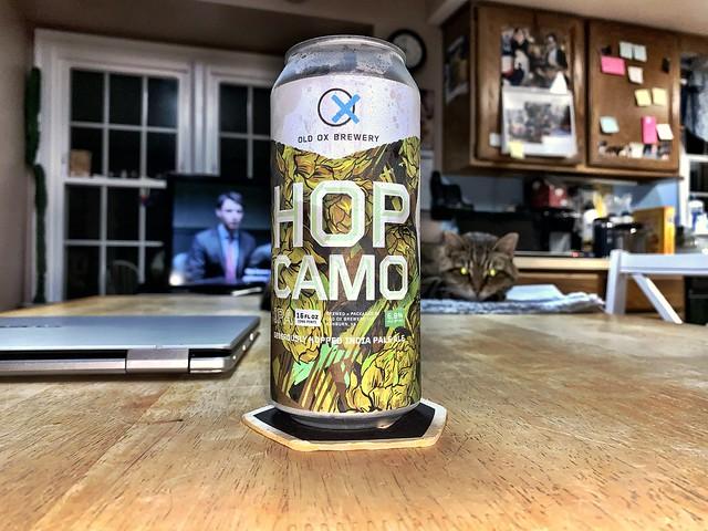 Hop Cammo IPA - Old Ox Brewery Ashburn Virginia