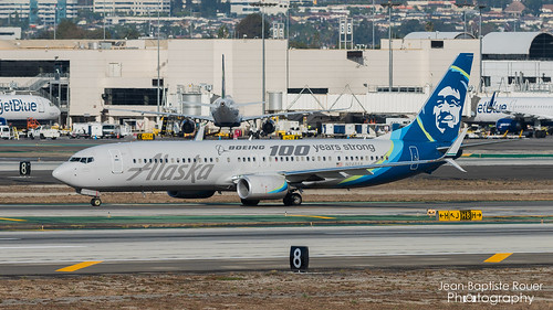"""Boeing 737-990(ER) Alaska Airlines """"Boeing 100 years strong Livery"""" - N248AK"""