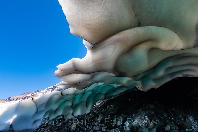 Ice Cave Below Heliotrope Ridge