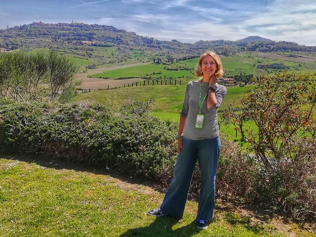 Roberta in Tuscany