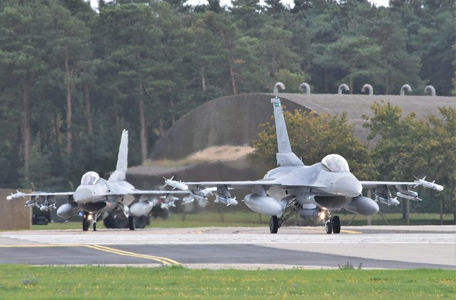 F16 (41) @ RAF Lakenheath 10-09-20