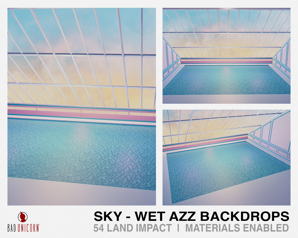NEW! Sky – Wet Azz Backdrops