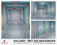 NEW! Hallway - Wet Azz Backdrops
