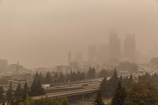Downtown Seattle (Wildfire Smoke September 2020) | by PR Photography
