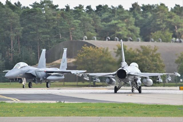 F16 (31) @ RAF Lakenheath 10-09-20