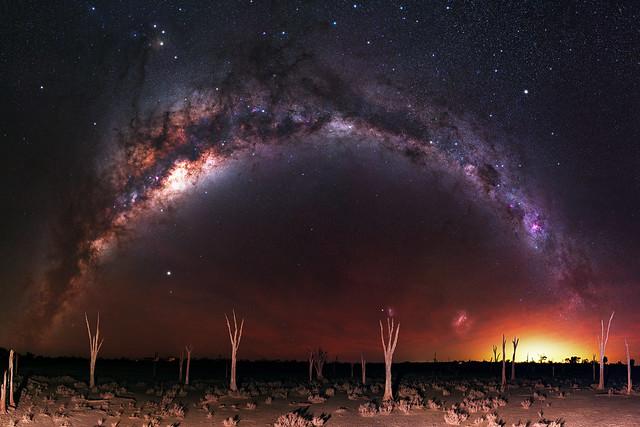 Milky Way at Lake Ninan, Western Australia