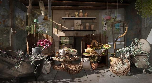 Little Garden House