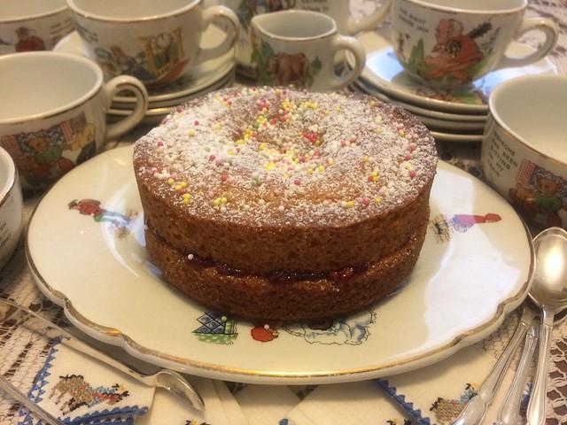 Paddington's Victoria Sponge Birthday Cake