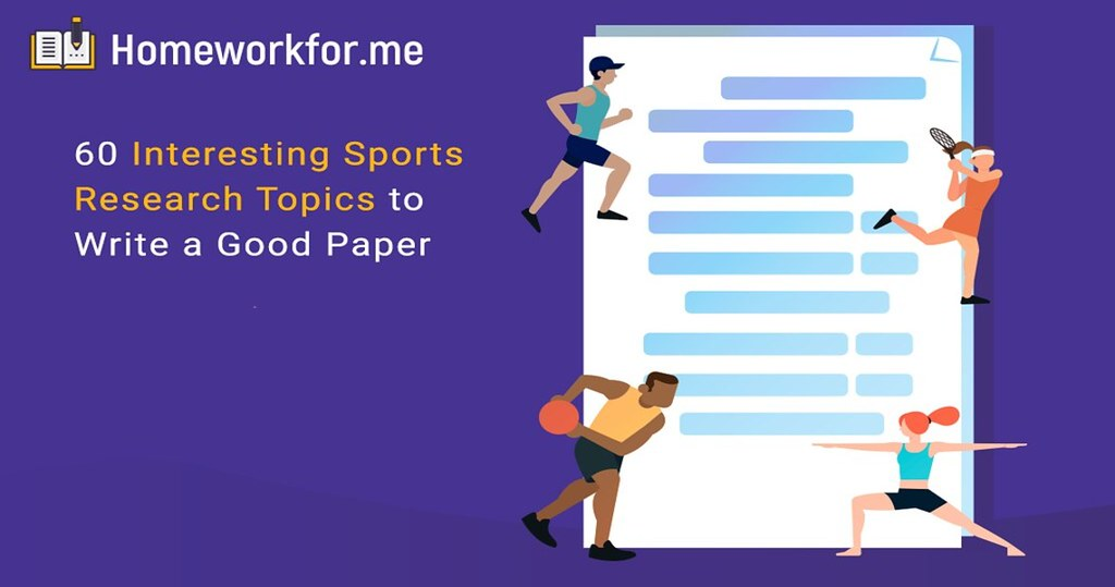 60 Interesting Sports Research Topics to Write a Good Paper