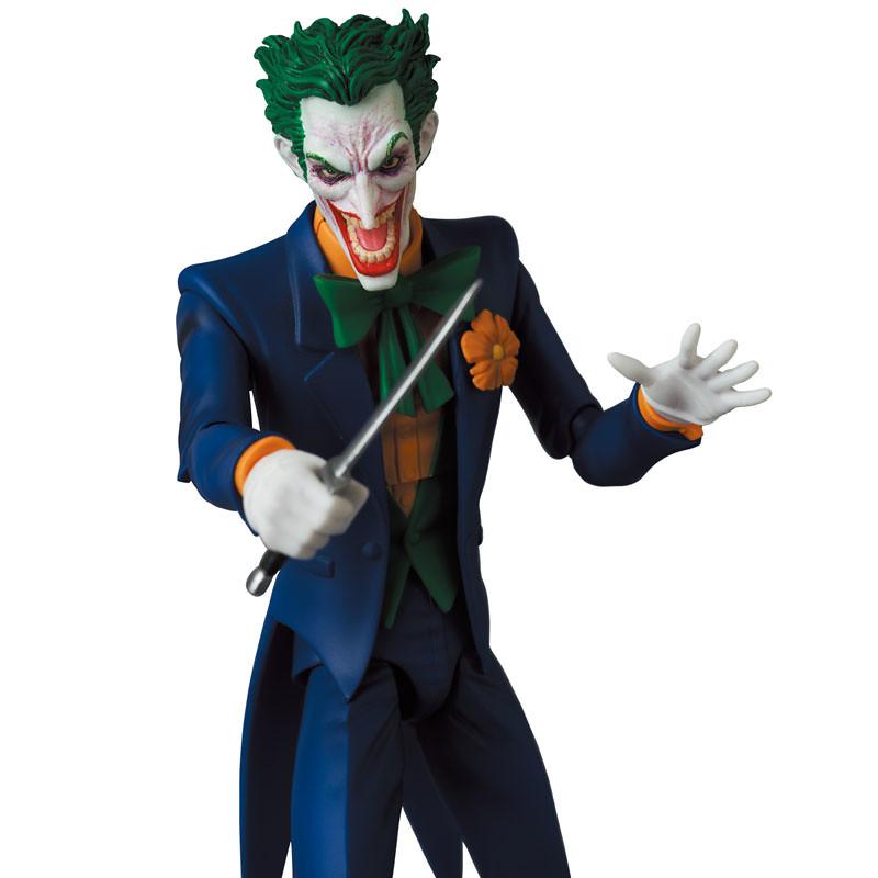 MAFEX DC【小丑(蝙蝠俠:緘默 Ver.)】可動人偶!病態狂笑臉龐再現