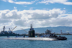 USS Greeneville (SSN 772) returns home to Joint Base Pearl Harbor-Hickam, Sept. 11. (U.S. Navy/MCC Amanda Gray)