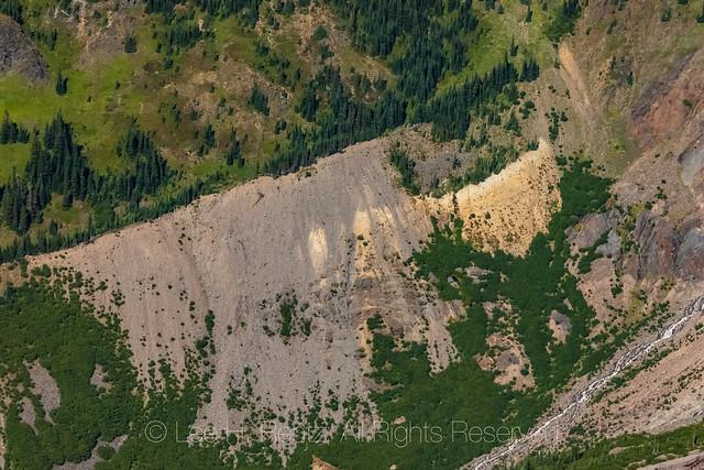 Lateral Moraine near Mount Baker