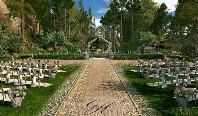 Overlook   Commisioned - De Roca - Forsythe Wedding Venue