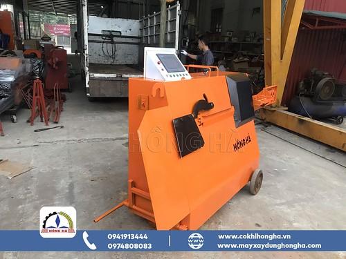 Máy móc công nghiệp: Mua máy bẻ đai tự động HBD8 Hồng Hà với nhiều ưu đãi lớn. 50347547058_26e519f4aa