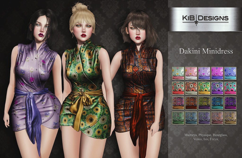 KiB Designs - Daikini Minidress @Sense Event
