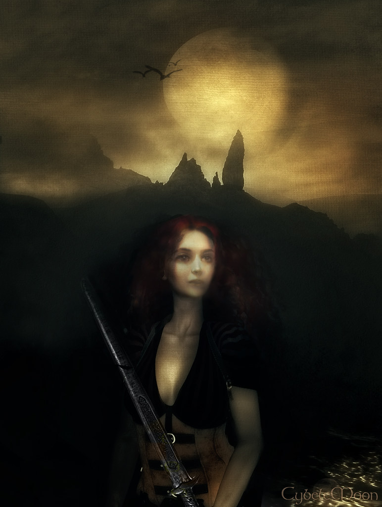 Scáthach, the legendary warrior woman of Skye