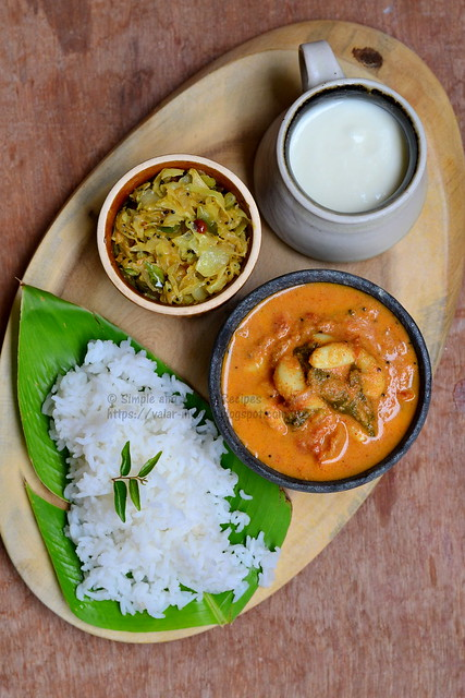 South Indian Meal - Tamilnadu Lunch Recipes