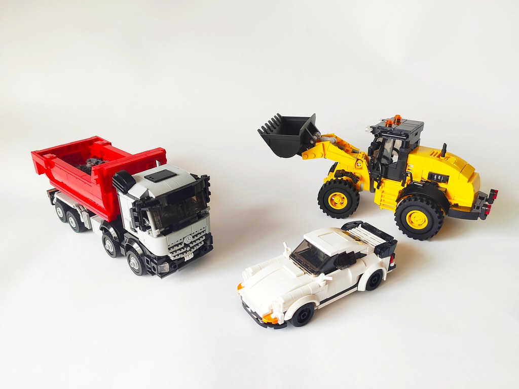 All my minifig scale city vehicles