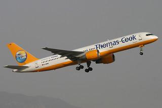 D-ABNE. B-757/200. Thomas Cook/Condor. PMI.