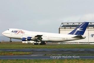 B747-287B EC-IZL AIR PLUS COMET
