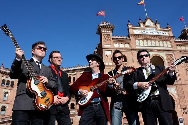 Los Escarabajos rinden tributo a Los Beatles