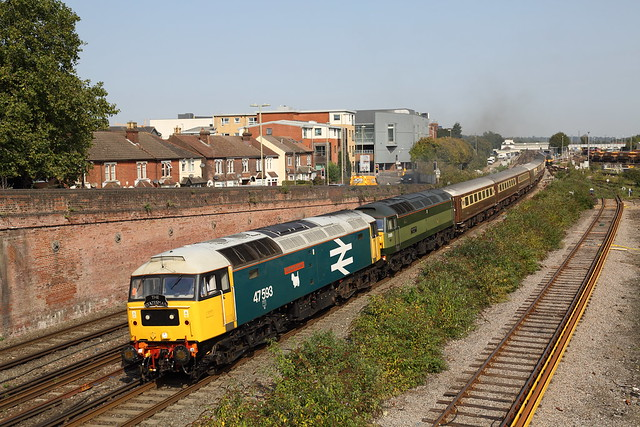 47593 at Eastleigh