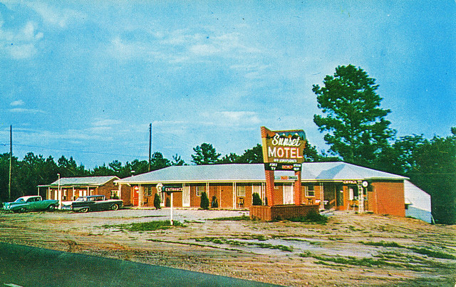 Sunset Motel, Clearwater, South Carolina