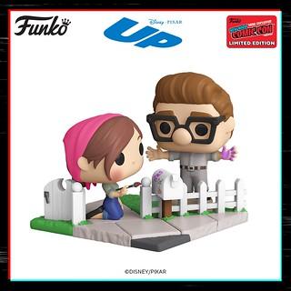 Funko《天外奇蹟》卡爾與艾莉!一起漆郵筒的身影甜蜜登場~