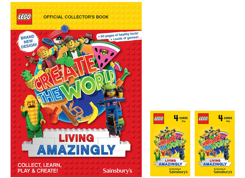 LEGO Trading Cards Sainsburys Album