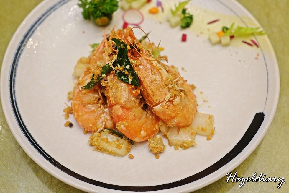Long Beach Seafood Robertson Quay-Prawns with Kupang Style