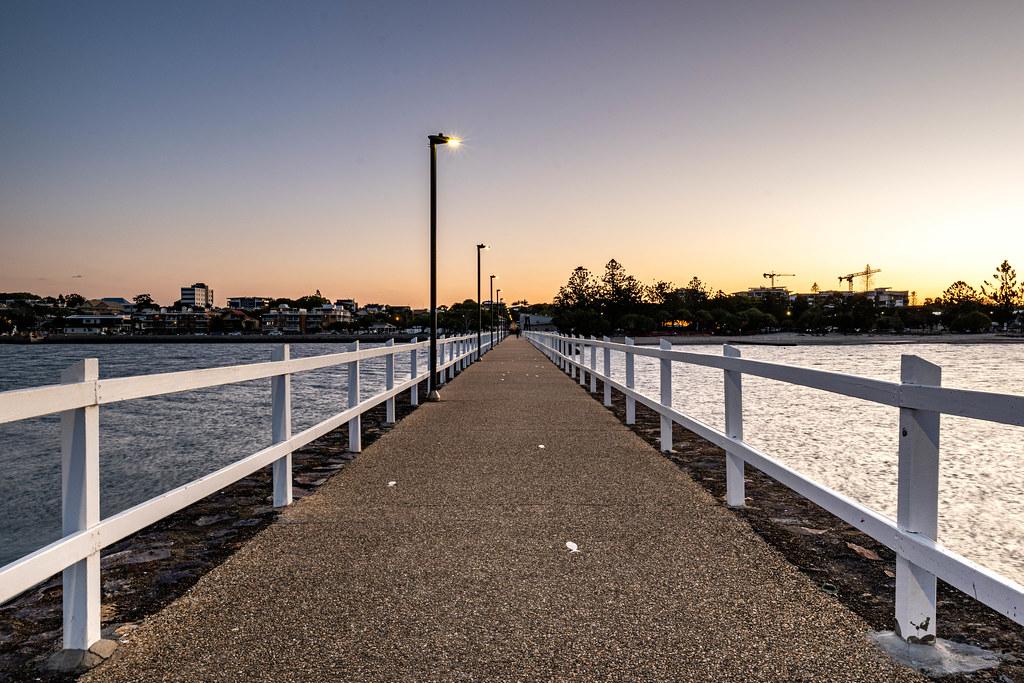 Wynnum Jetty Sunset (Wynnum, Queensland)