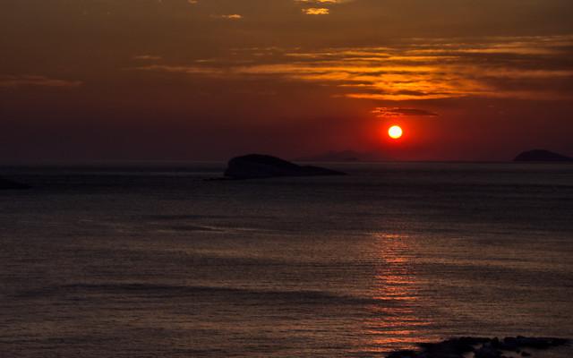 Sunset in Dalmatia, Croatia [Explore]